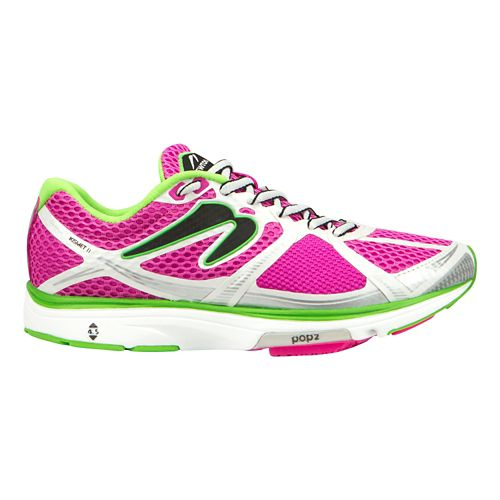 Womens Newton Running Kismet II Running Shoe - Pink/Green 9.5