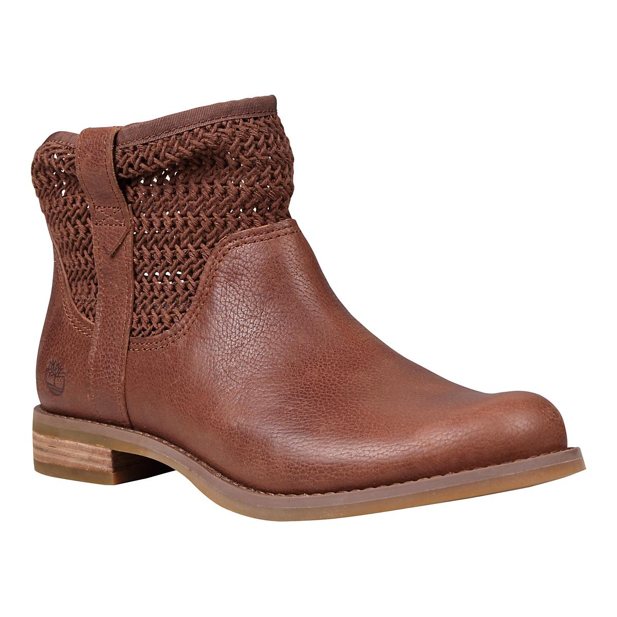 Women's Timberland�Savin Hill Leather and Fabric Ankle Boot