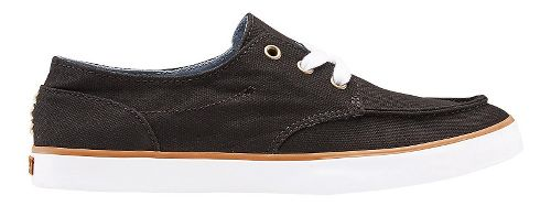 Womens Reef Deckhand 3 Casual Shoe - Black 6.5