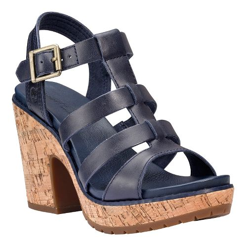 Womens Timberland Roslyn Fisherman Sandal Sandals Shoe - Navy 8