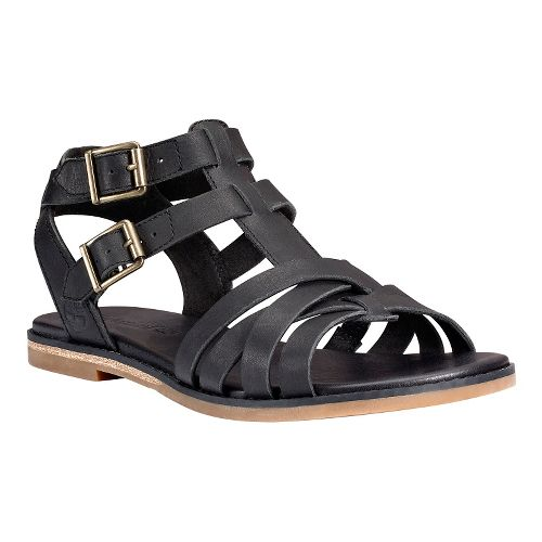 Womens Timberland Caswell Fisherman Sandal Sandals Shoe - Black 7.5
