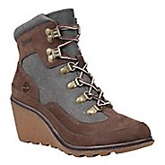 Womens Timberland Amston Leather and Fabric Hiker Casual Shoe