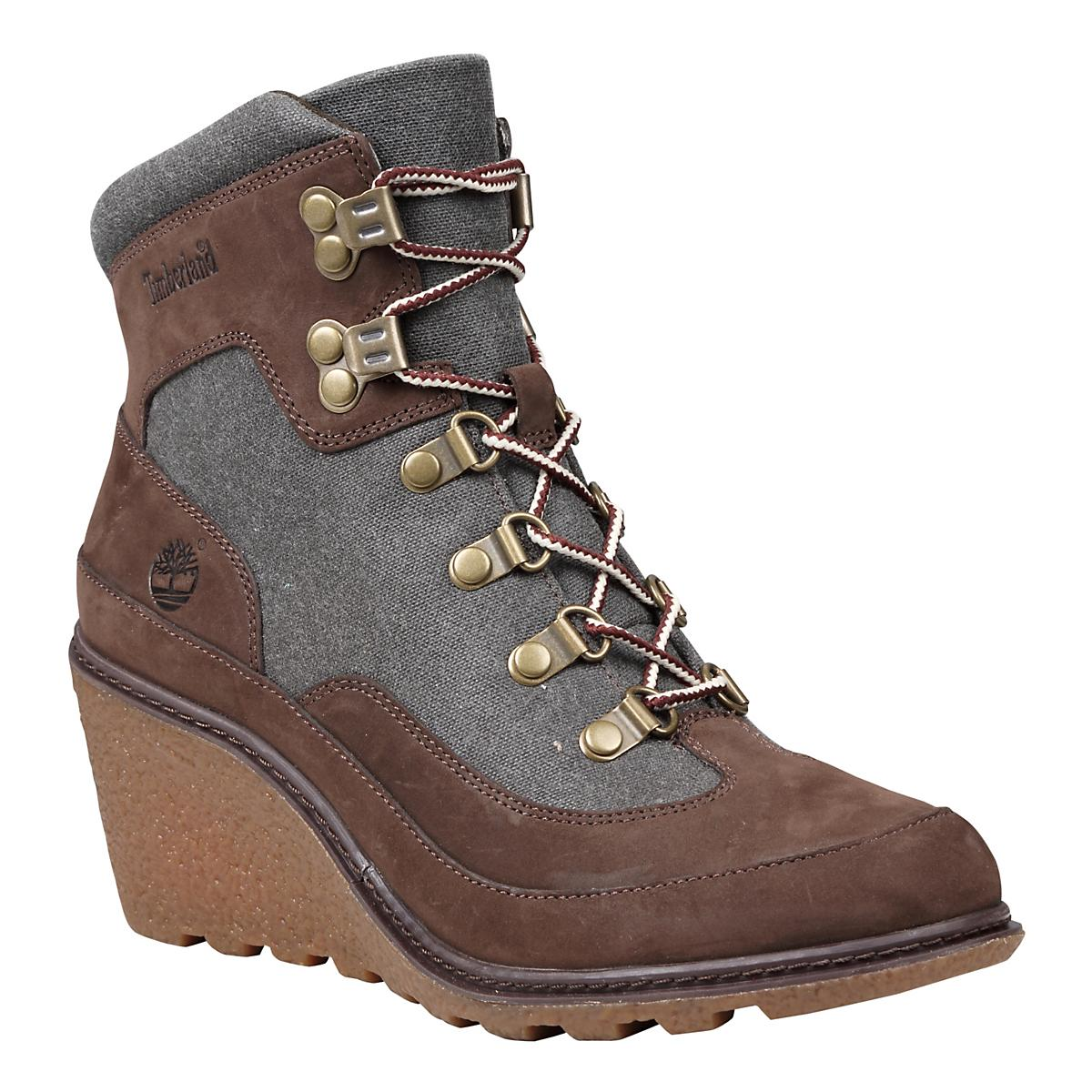 Women's Timberland�Amston Leather and Fabric Hiker