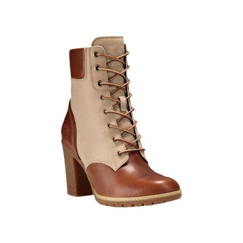 Womens Timberland Glancy Leather and Fabric 6