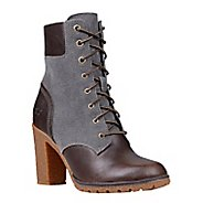 "Womens Timberland Glancy Leather and Fabric 6"" Boot Casual Shoe"