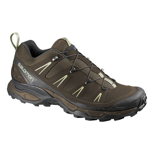 Mens Salomon X-Ultra Ltr Hiking Shoe - Brown/Grey 9.5