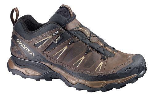 Mens Salomon X-Ultra Ltr GTX Hiking Shoe - Brown/Black 13