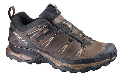 Mens Salomon X-Ultra Ltr GTX Hiking Shoe - Brown/Black 7