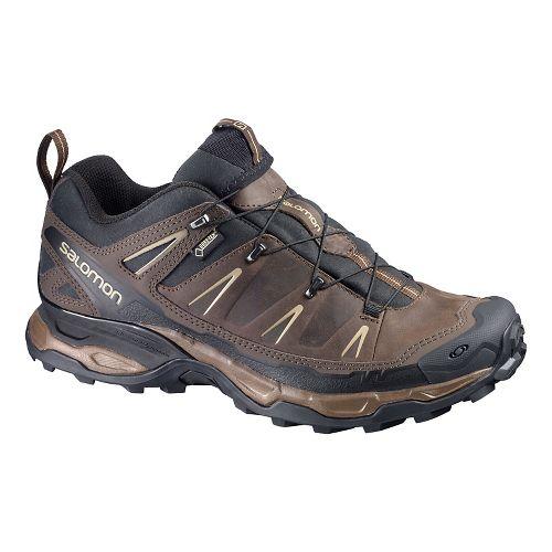 Mens Salomon X-Ultra Ltr GTX Hiking Shoe - Brown/Black 11