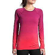 Womens Brooks Streaker Long Sleeve Technical Tops