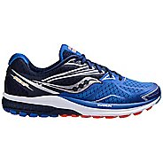 Mens Saucony Ride 9 Running Shoe - Blue 8