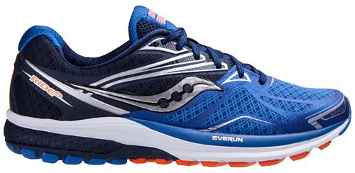 Mens Saucony Ride 9 Running Shoe - Blue 10.5
