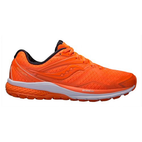 Mens Saucony Ride 9 Running Shoe - Orange Pop 10