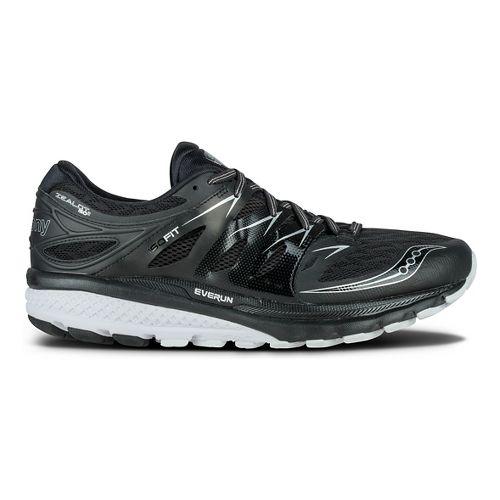 Mens Saucony Zealot ISO 2 Running Shoe - Black/White 9.5