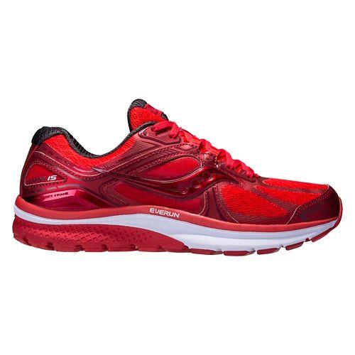 Mens Saucony Omni 15 Running Shoe - Red Pop 11