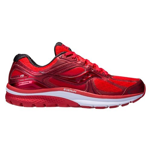 Mens Saucony Omni 15 Running Shoe - Red Pop 7.5