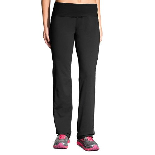 Womens Brooks Threshold Pants - Black XS