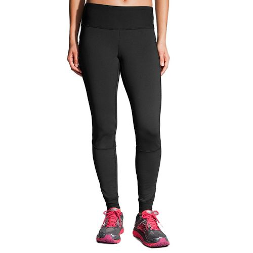 Womens Brooks Threshold Tights & Leggings - Black XL