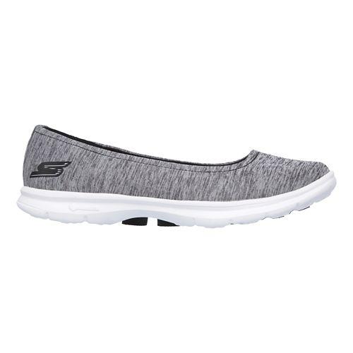 Womens Skechers GO Step Challenge Walking Shoe - Black/Grey 10