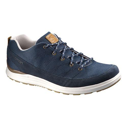 Mens Salomon XA Chill 2 Canvas Casual Shoe - Navy Blue 7.5