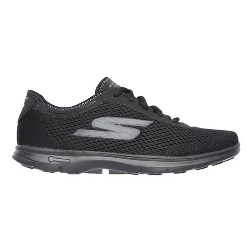 Womens Skechers GO Step Sport Walking Shoe - Black 8.5
