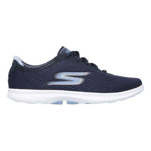 Womens Skechers GO Step Sport Walking Shoe - Navy/White 8.5