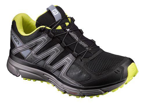 Mens Salomon X-Mission 3 Running Shoe - Black/Grey 10
