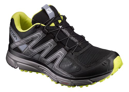 Mens Salomon X-Mission 3 Running Shoe - Black/Grey 11