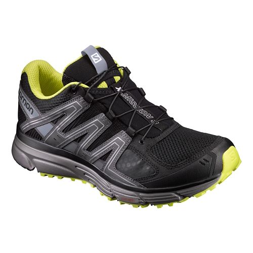 Mens Salomon X-Mission 3 Running Shoe - Black/Grey 12
