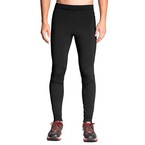 Mens Brooks Threshold Tights & Leggings - Black L