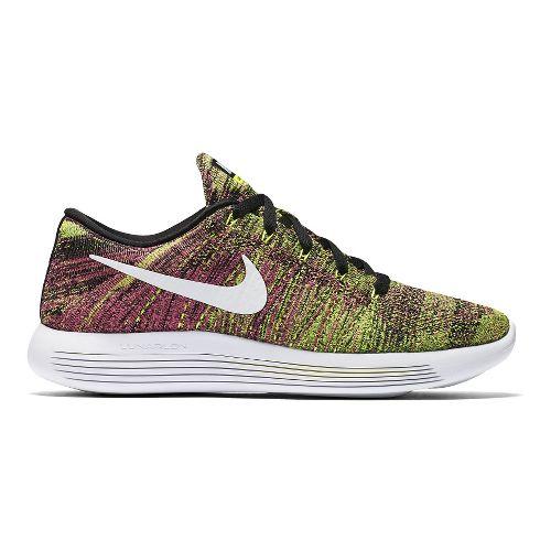 Mens Nike LunarEpic Low Flyknit Running Shoe - Summer Games 11.5