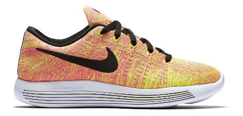 Womens Nike LunarEpic Low Flyknit Running Shoe - Summer Games 9.5