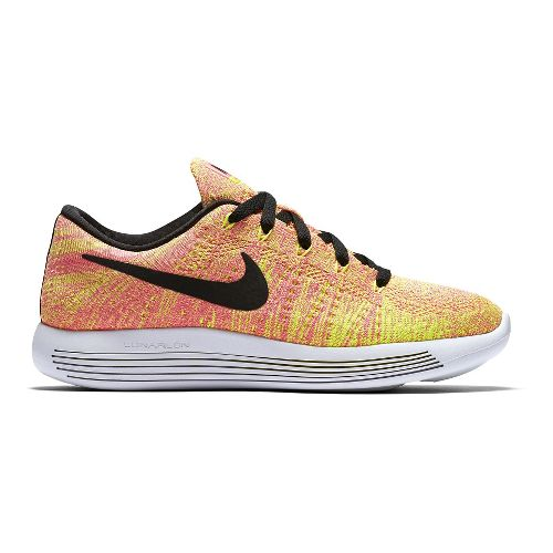 Womens Nike LunarEpic Low Flyknit Running Shoe - Summer Games 7.5