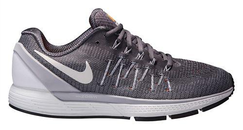 Mens Nike Air Zoom Odyssey 2 Running Shoe - Grey/Orange 12