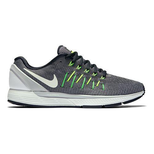 Mens Nike Air Zoom Odyssey 2 Running Shoe - Grey/White 8.5