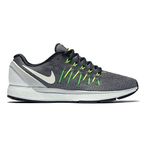 Mens Nike Air Zoom Odyssey 2 Running Shoe - Grey/White 9.5