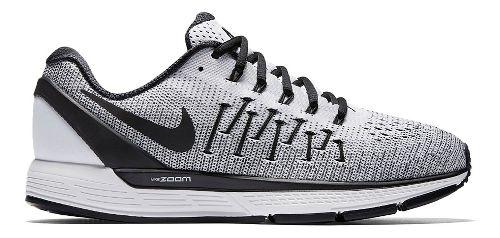 Mens Nike Air Zoom Odyssey 2 Running Shoe - White/Black 9