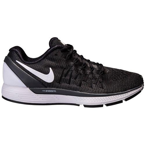 Womens Nike Air Zoom Odyssey 2 Running Shoe - Black/White 10.5