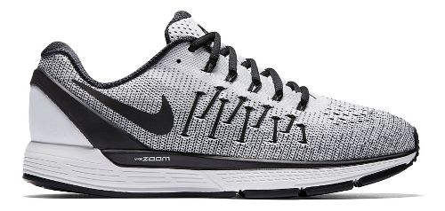 Womens Nike Air Zoom Odyssey 2 Running Shoe - White/Black 8