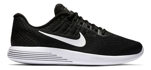Mens Nike LunarGlide 8 Running Shoe - Black/White 10.5