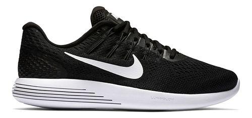 Mens Nike LunarGlide 8 Running Shoe - Black/White 8