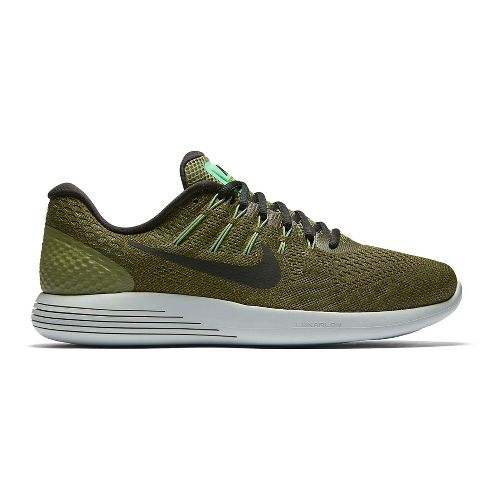 Mens Nike LunarGlide 8 Running Shoe - Palm Green 12.5