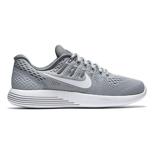 Womens Nike LunarGlide 8 Running Shoe - White/Black 6