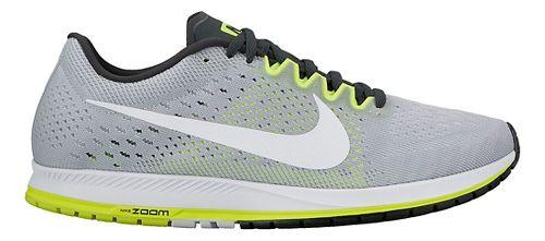 Nike Air Zoom Streak 6 Racing Shoe - Grey/Volt 5