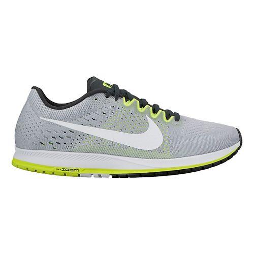 Nike Air Zoom Streak 6 Racing Shoe - Grey/Volt 5.5