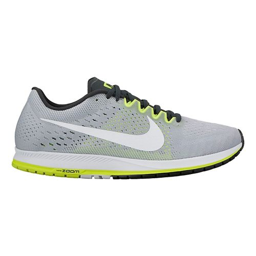 Nike Air Zoom Streak 6 Racing Shoe - Grey/Volt 6