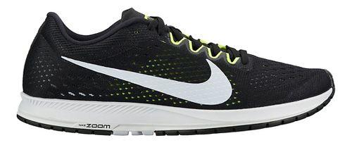 Nike Air Zoom Streak 6 Racing Shoe - Black/White 12.5