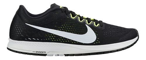 Nike Air Zoom Streak 6 Racing Shoe - Black/White 8