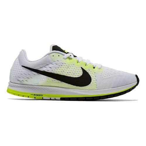 Nike Air Zoom Streak 6 Racing Shoe - White/Volt 7.5