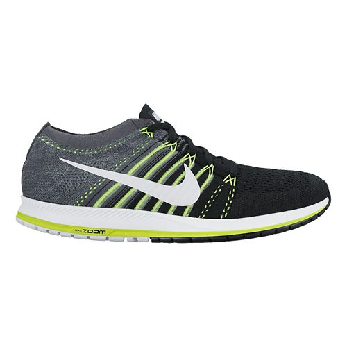 Nike Air Zoom Flyknit Streak 6 Racing Shoe - Black/Grey 10